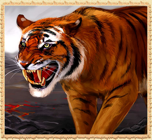 Facts of Sabertooth Tiger http://warofdragons.com/bot_info.php?artikul_id=985