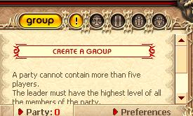 Creating a group is very simple