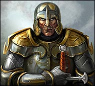 Warlord Damirus in the free MMORPG Legend: Legacy of the Dragons